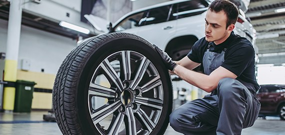Experience checking tires before traveling